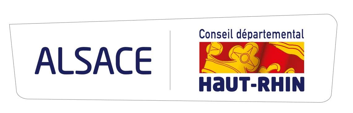 Logo Département Alsace Haut-Rhin - France